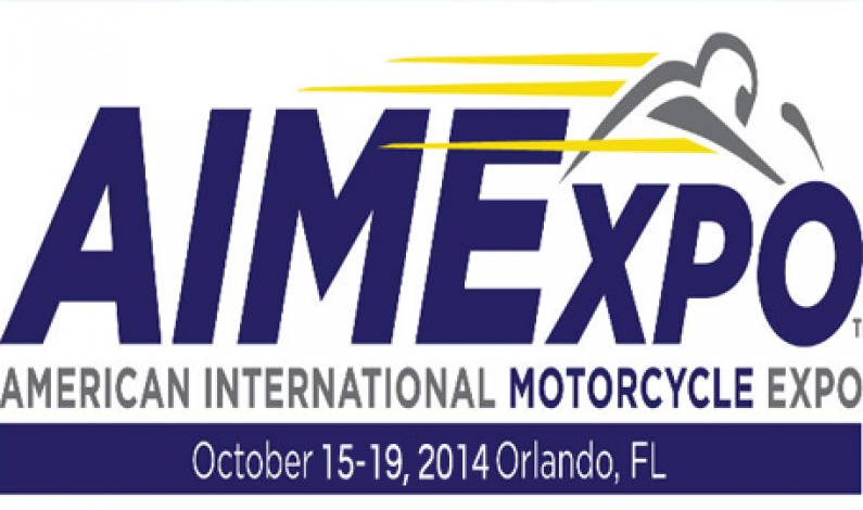 American International Motorcycle Expo Oct 15-19, 2014 Orlando FL.