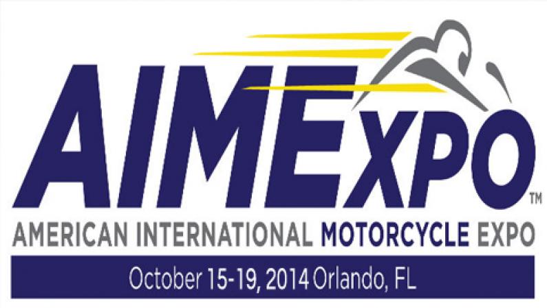 American International Motorcycle Expo Oct 15-19, 2014 Orlando FL.