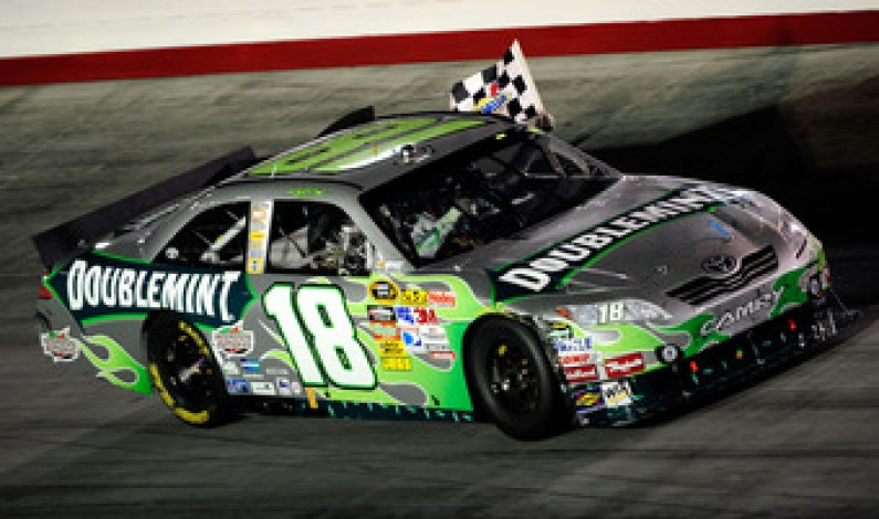 Kyle Busch makes history at Bristol with Triple-Sweep