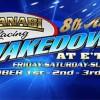 Al-Anabi Racing 8th Annual Shakedown at Etown Oct 1-3