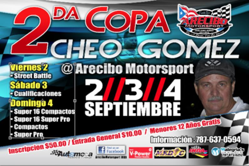 2/3/4 Sept. Copa Cheo Gomez @ Arecibo Motorsports