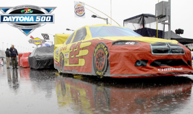 Rain Pospones Daytona 500 to Mon 27 @ 7 p.m. ET