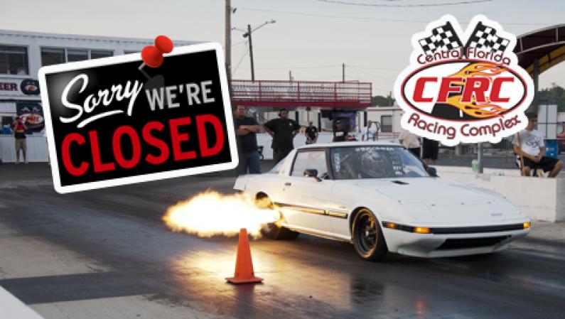 No More Drag Racing @ Orlando's CFRC