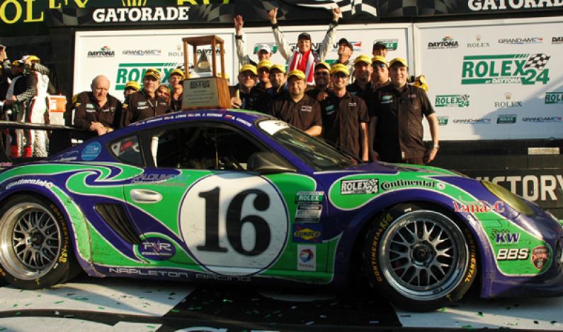 Shane Lewis Wins Daytona's ROLEX 24 GX & Dunlop 24H of DUBAI Back-to-Back