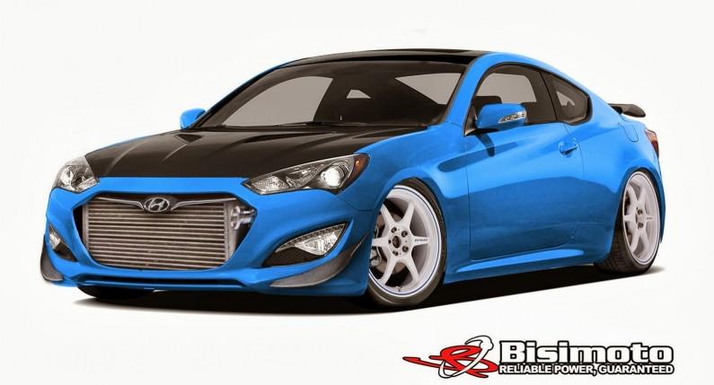 Hyundai Bisimoto Genesis Coupe 2013 SEMA show car
