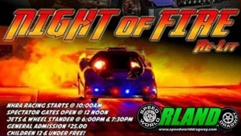 Orlando Speed World Dragway's Night of FIRE 11/23/13