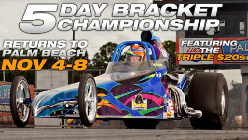Palm Beach 5 Day Bracket Championship, Nov 4 to 8, 2013