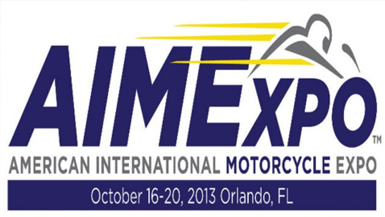 American International Motorcycle Expo Oct 16-20, 2013 Orlando FL.