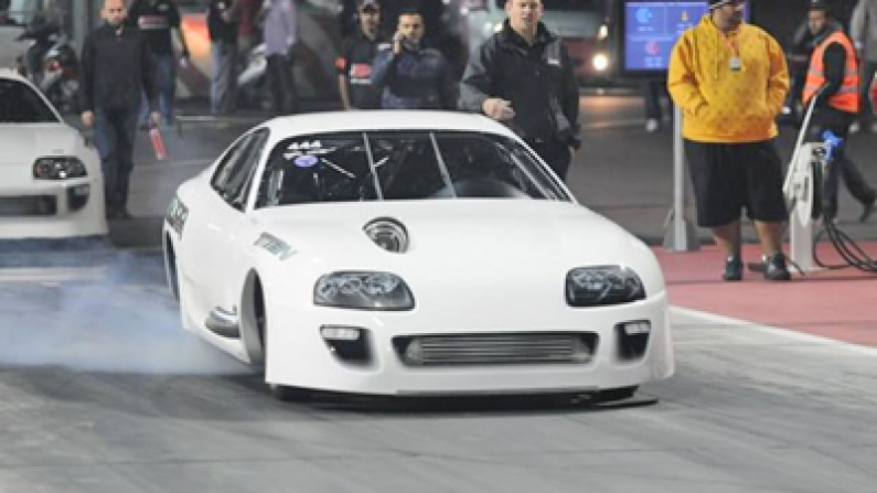 EKANOO Racing Supra 2JZGTE New World Record 6.15 sec @ 230.2 mph