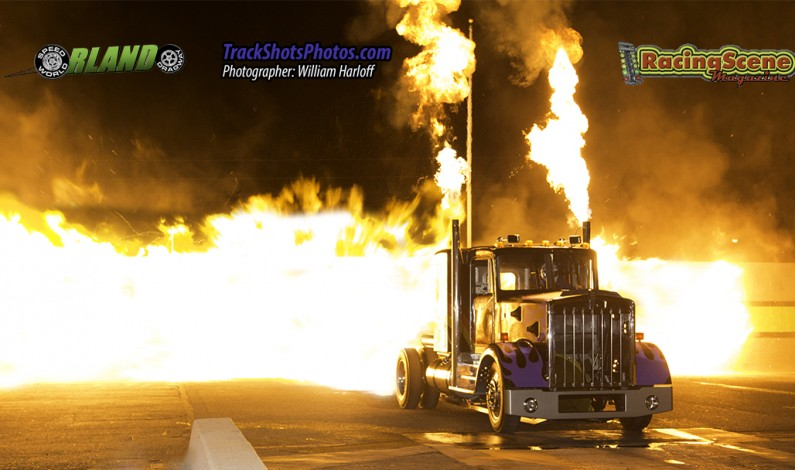 Orlando Speed World Dragway's Night of Fire Re-Lit! 11/23/13