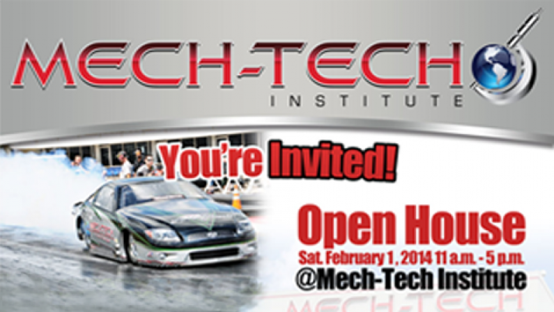 Mech-Tech Institute Open House Live @ RadioRpm 02/01/14