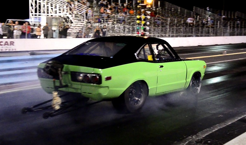 Hulk Racing suffers serious car crash @ Lakeland Dragstrip