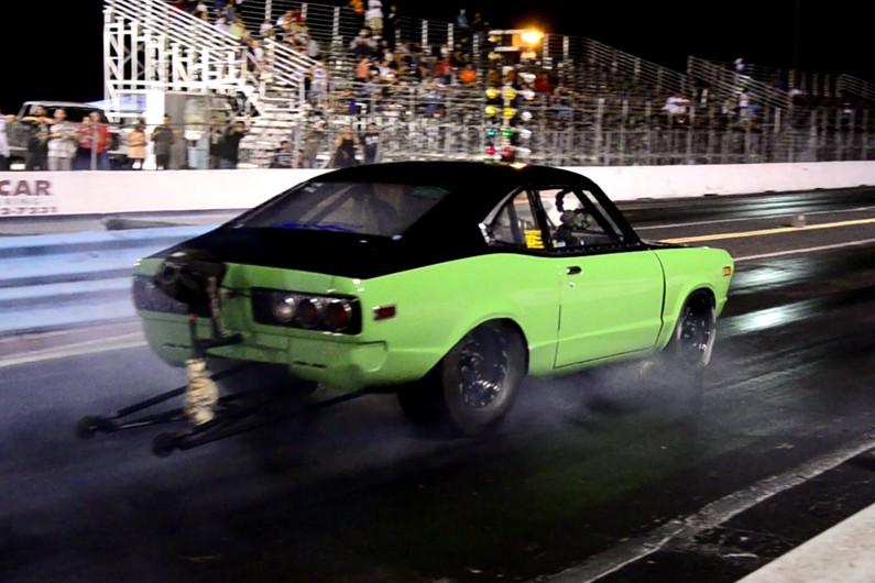 Hulk Racing suffers serious car crash @ Lakeland Dragstrip