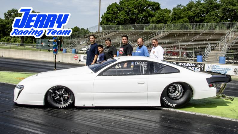 Jerry Racing Team New ET Record 6.36 sec @ 208 mph ATCO