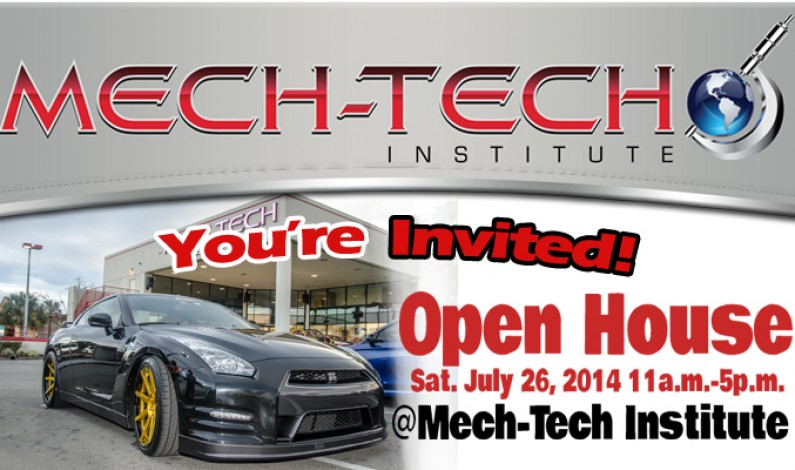 Mech-Tech Institute Open House Live @ RadioRpm 07/26/14