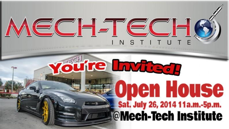 Mech-Tech Institute Open House Live @ RadioRpm 07/26/14