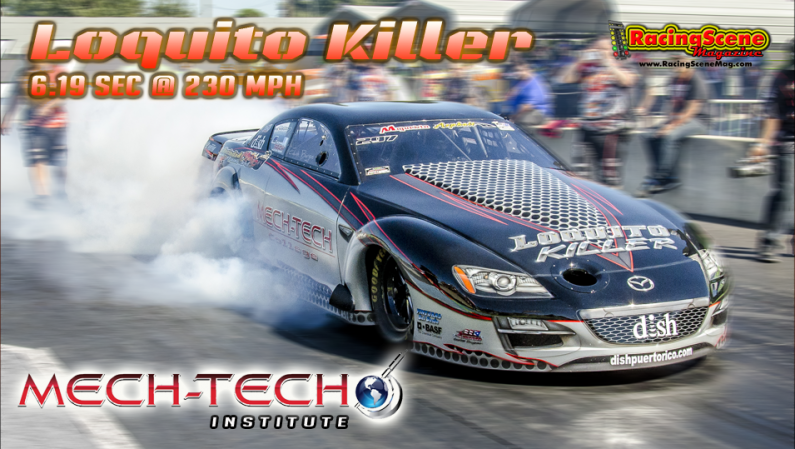 Mech-Tech's Loquito Killer breaks a new world record 6.19sec @ 230 mph