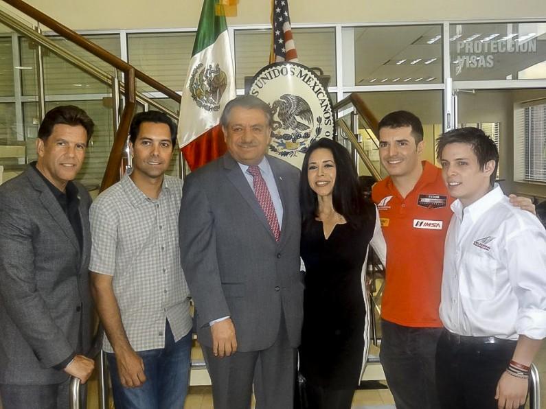 Mexican Consulate of Orlando invites Latin drivers Rolex 24