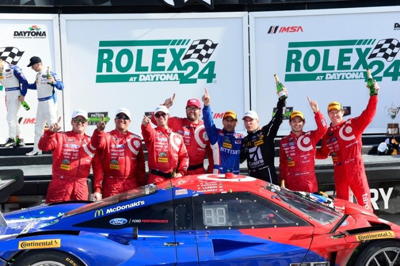 Chip Ganassi Racing picks up 6th Win in Rolex 24 at Daytona