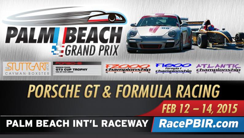 Palm Beach Grand Prix @ PBIR February 12-14, 2015