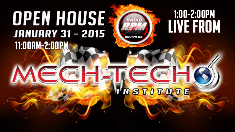Mech-Tech Institute Open House Live @ RadioRpm 01/31/15