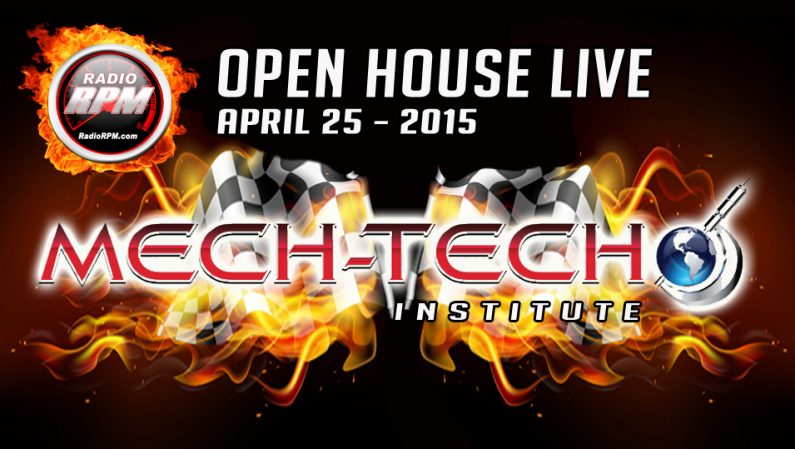 Mech-Tech Institute Open House Live @ RadioRpm 4/25/15