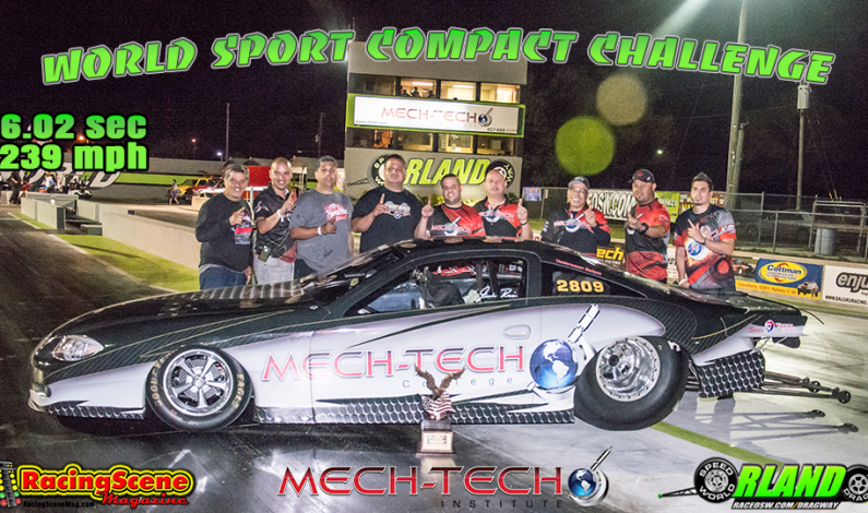 Mech-Tech's Mr. President Wins WORLD SPORT COMPACT CHALLENGE 10-18-15
