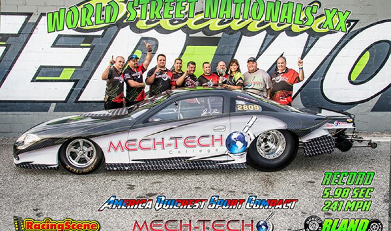Mech-Tech's Mr President America Quickest Sport Compact 5.98sec @241 MPH