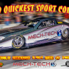 Mech-Tech's Mr President driven by Isaias Rojas new Worlds Quickest Sport Compact 5.961 @ 240.72