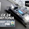 ROLEX 24 AT DAYTONA LIVE ON FOX SATURDAY, JANUARY 28