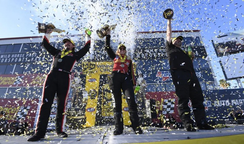 Courtney Force captures first win since 2016; McGaha, Torrence also earn NHRA Arizona Nationals