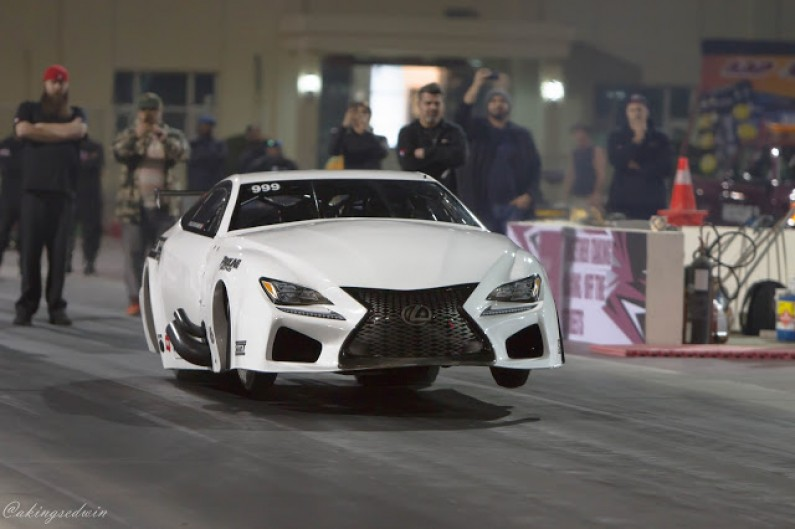 EKanoo Lexus Pro Boost RCF World's Fastest & Quickest Door Slammer 5.379@278.79MPH