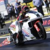 Hector Arana Jr. first to break 200 mph on an NHRA drag bike at 200.23 mph